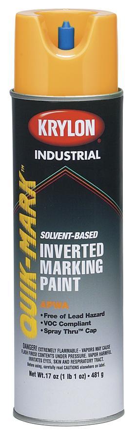Krylon quik mark upside down marking paint for Upside down paint sprayer